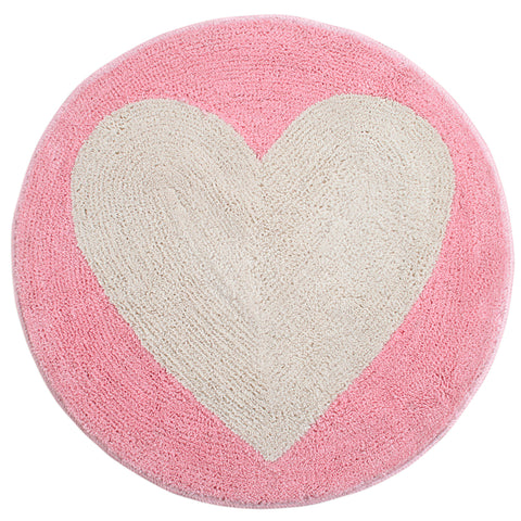 Heart Alba Shape Micro Bathmat