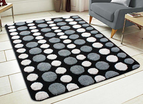 Soft Micro Polyester Anti Slip Tufted Floor Carpets