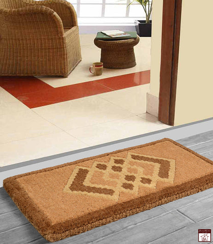 Heavy Duty Coir Made Vamshi Design Doormat