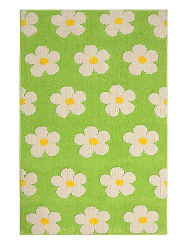 Flower design multipurpose carpets