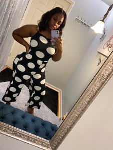 Hot Dot Jumpsuit- PLUS