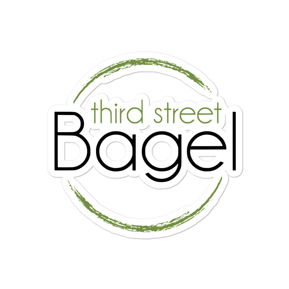 Third Street Bagel sticker