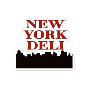 New York Deli sticker