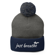 Load image into Gallery viewer, Just Breathe Beanie