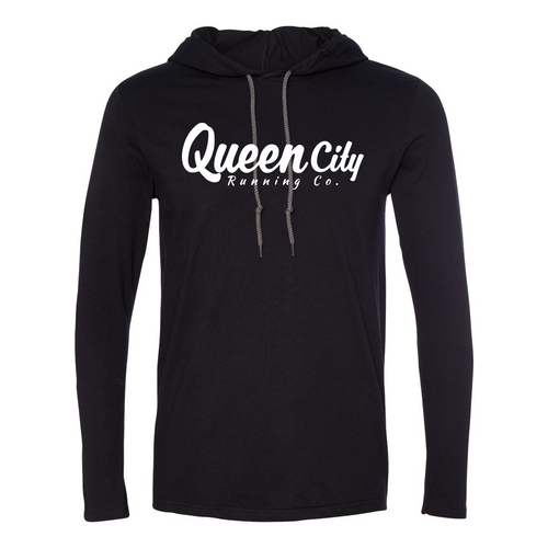 Queen City Running Co. Hooded T-Shirt