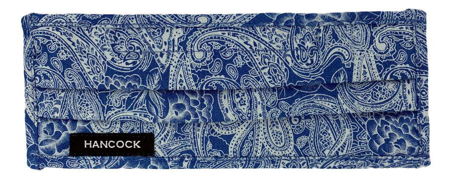 Face Mask - Blue Denim Floral Print
