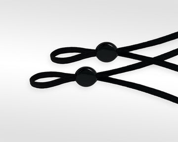 Earloop Adjusters - Black
