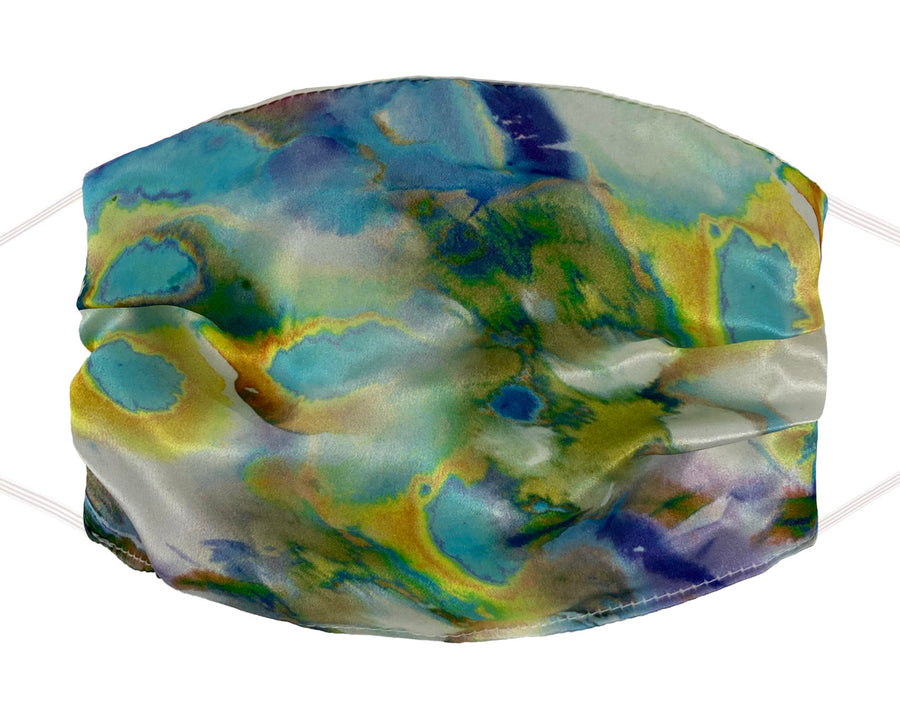 Fashion Mask - Silk - Opal Burnout