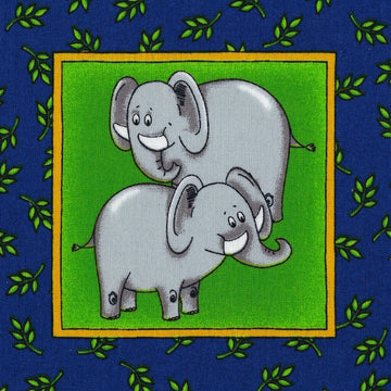 Face Mask - Zoo Animals, Elephants