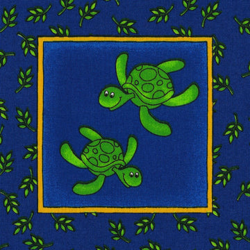 Face Mask - Zoo Animals, Turtles
