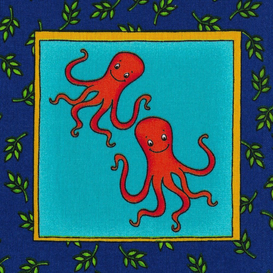 Face Mask - Zoo Animals, Octopus