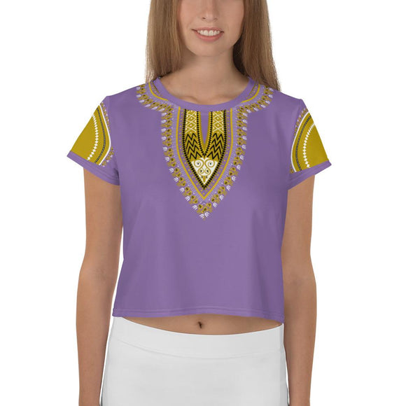 T-shirt Crop-Top Imprimé - EvesAdams