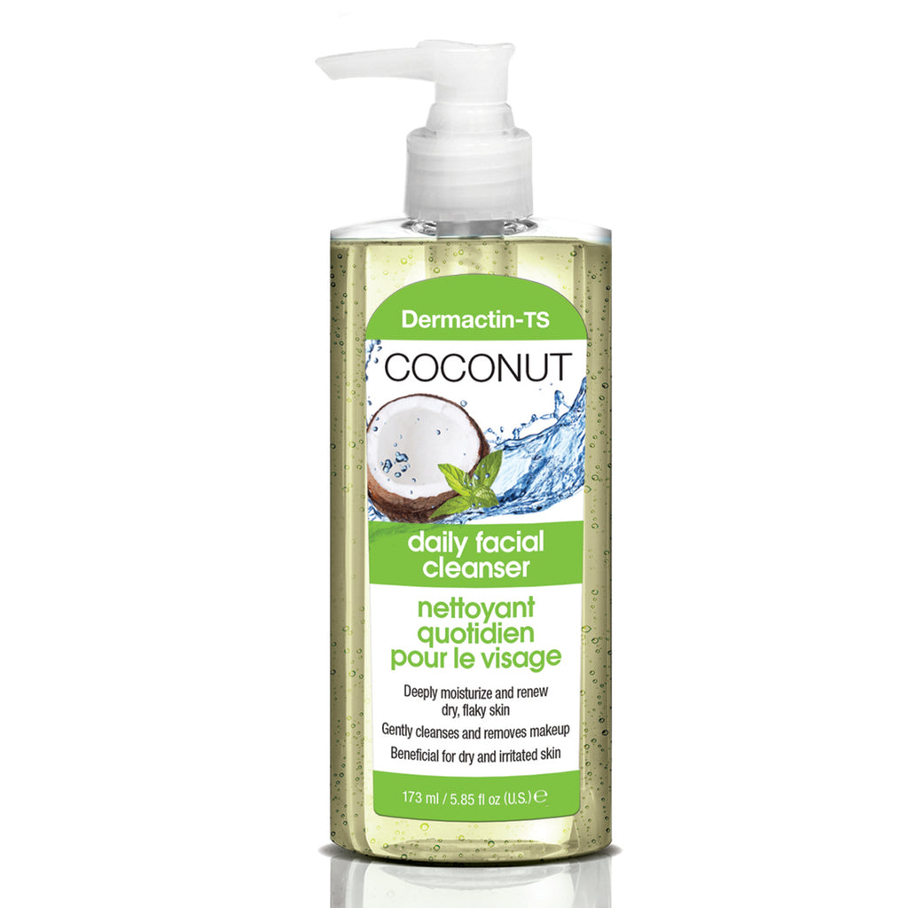 Dermactin-TS Coconut Daily Facial Cleanser  5.85 oz.