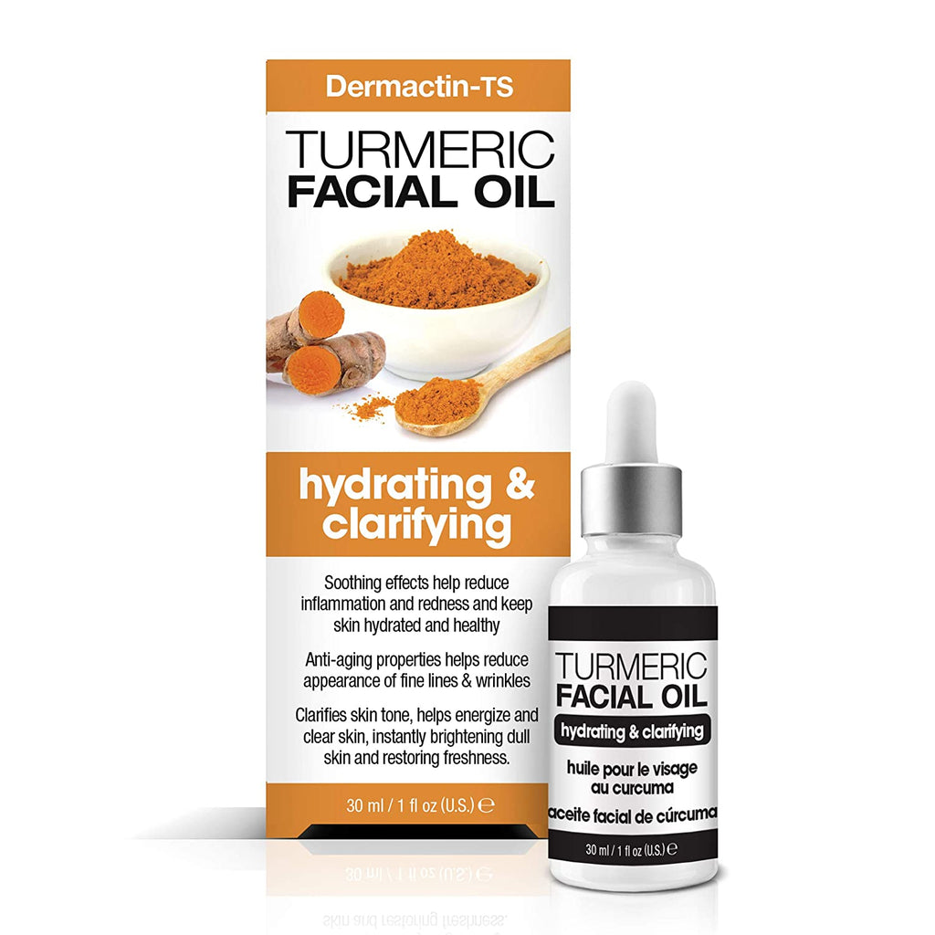 Dermactin-TS Turmeric Hydrating and Clarifying Facial Oil 1 oz.