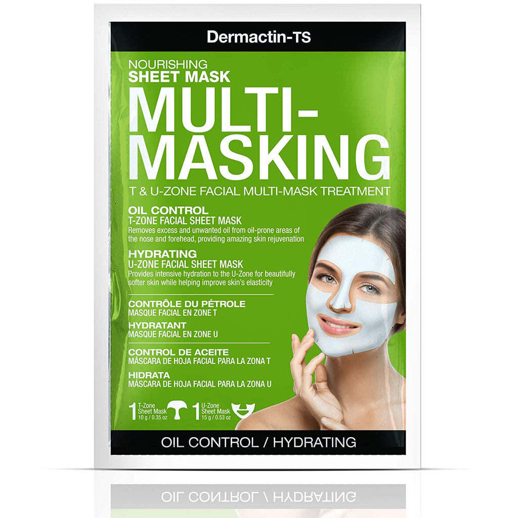 Dermactin-TS Multi-masking Oil Control/Hydrating Sheet Mask