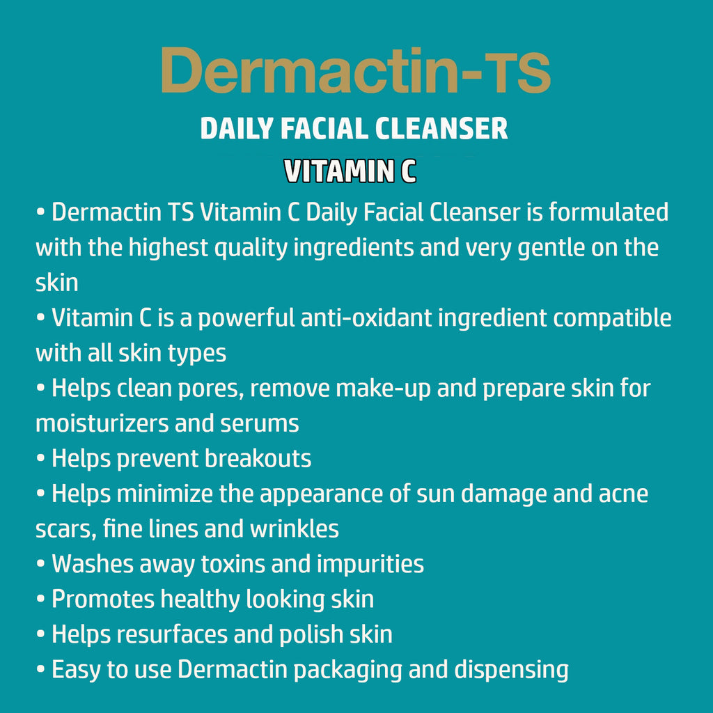 Dermactin-TS Vitamin C Daily Facial Cleanser 5.85 oz.