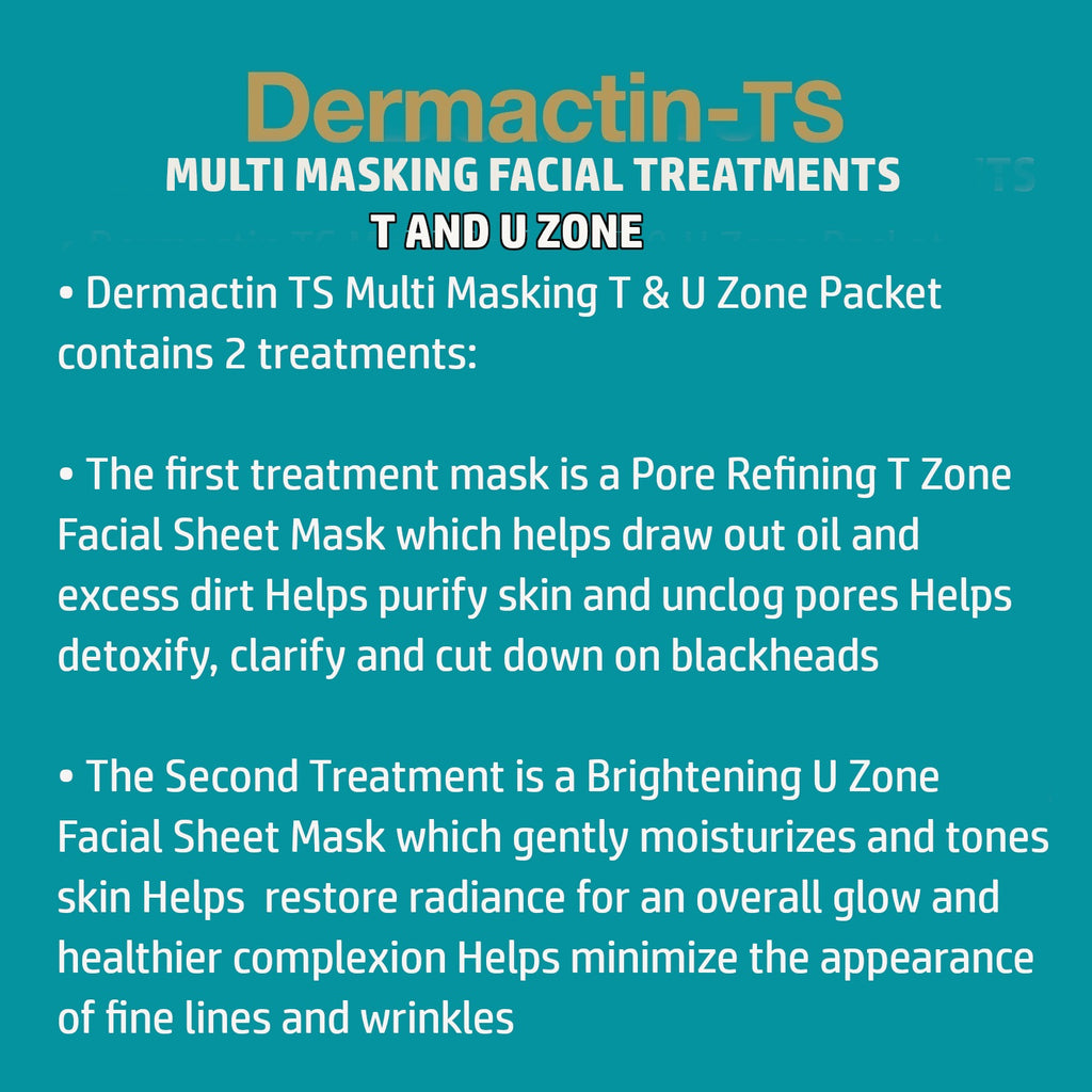 Dermactin-TS  T & U Zone Nourishing Multi-Masking Sheet Mask