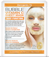 Dermactin-TS Facial Bubble Sheet Mask with Vitamin C