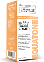 Dermactin-TS Equatone Night Time Facial Cream 2 oz.