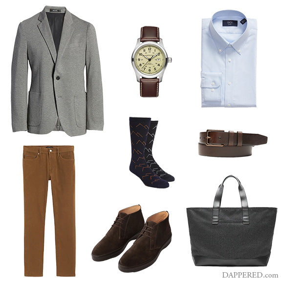 Style Scenario: Business Casual, Fall Textures
