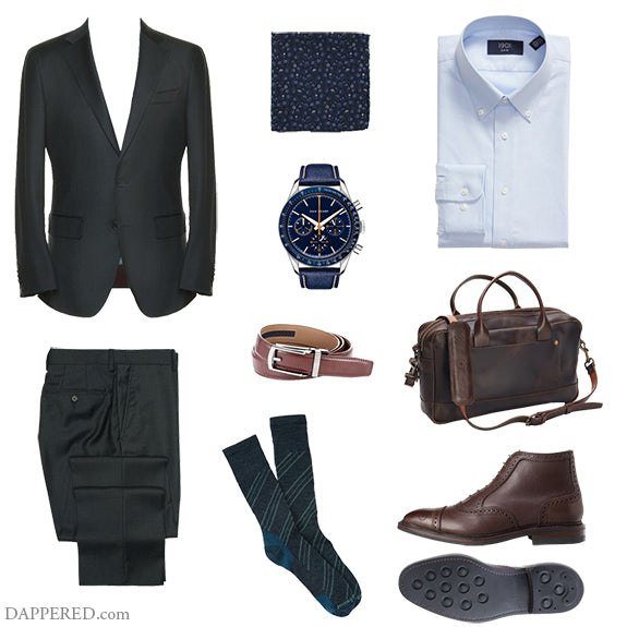 Style Scenario: Getting more use out of your charcoal suit