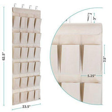 Load image into Gallery viewer, Select nice mindspace over the door shoe organizer rack hanging shoe organizer for closet for closet organization laundry room pantry bathroom organizer