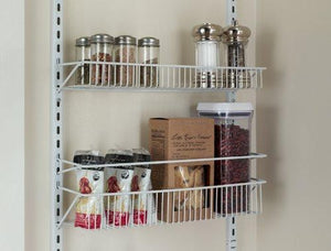 Featured closetmaid 1233 adjustable 8 tier wall and door rack 77 inch height x 18 inch wide