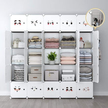 Load image into Gallery viewer, Save on yozo modular closet portable wardrobe dreeser organizer clothes storage organizer chest of drawers cube shelving for teens kids diy furniture white 8 cubes
