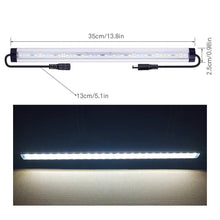 Load image into Gallery viewer, Cheap sunwow motion sensor led under cabinet lighting kit 4pcs extendable under counter led light bar for gun box locker closet shelf reception desk kitchen show case lighting white