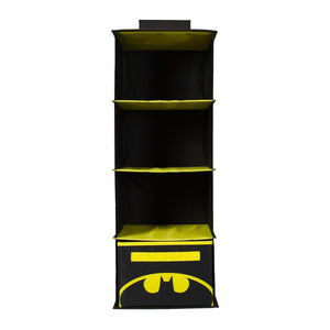 Buy now everything mary col batman 4 shelves clothing closet and bedroom dc comics towel accessory storage collapsible hanging organizer