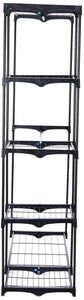 Amazon whitmor deluxe double rod freestanding closet heavy duty storage organizer