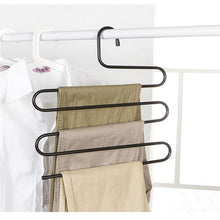Load image into Gallery viewer, Pants Trousers Hanger - Multi Layers Clothing Rack Space Saver