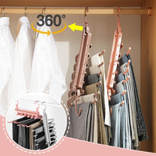 Load image into Gallery viewer, 6-Layers Detachable Folding Pants Hanger