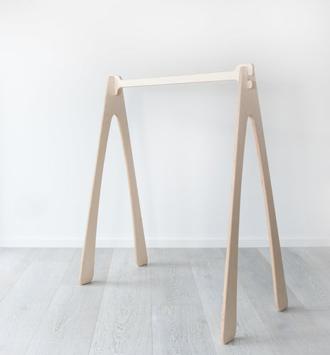 Natural Timber Clothing Rack