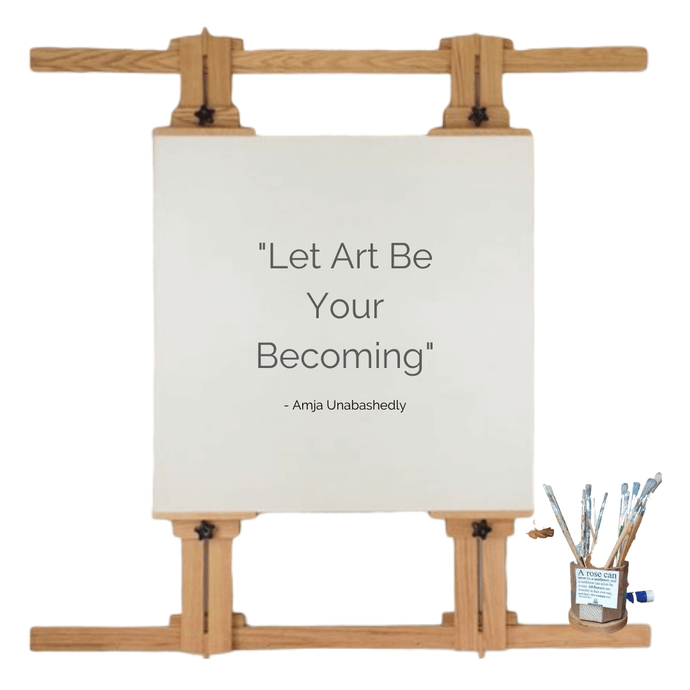 Let Art Be Your Becoming