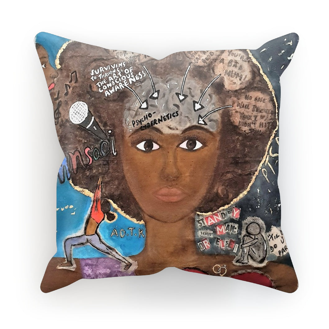 Perception Cushion - Amja Art
