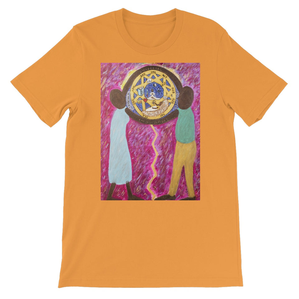 Universal Child Support All People Short Sleeve T-Shirt - Amja Art