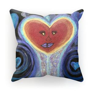 A Love Out of This World Cushion - Amja Art