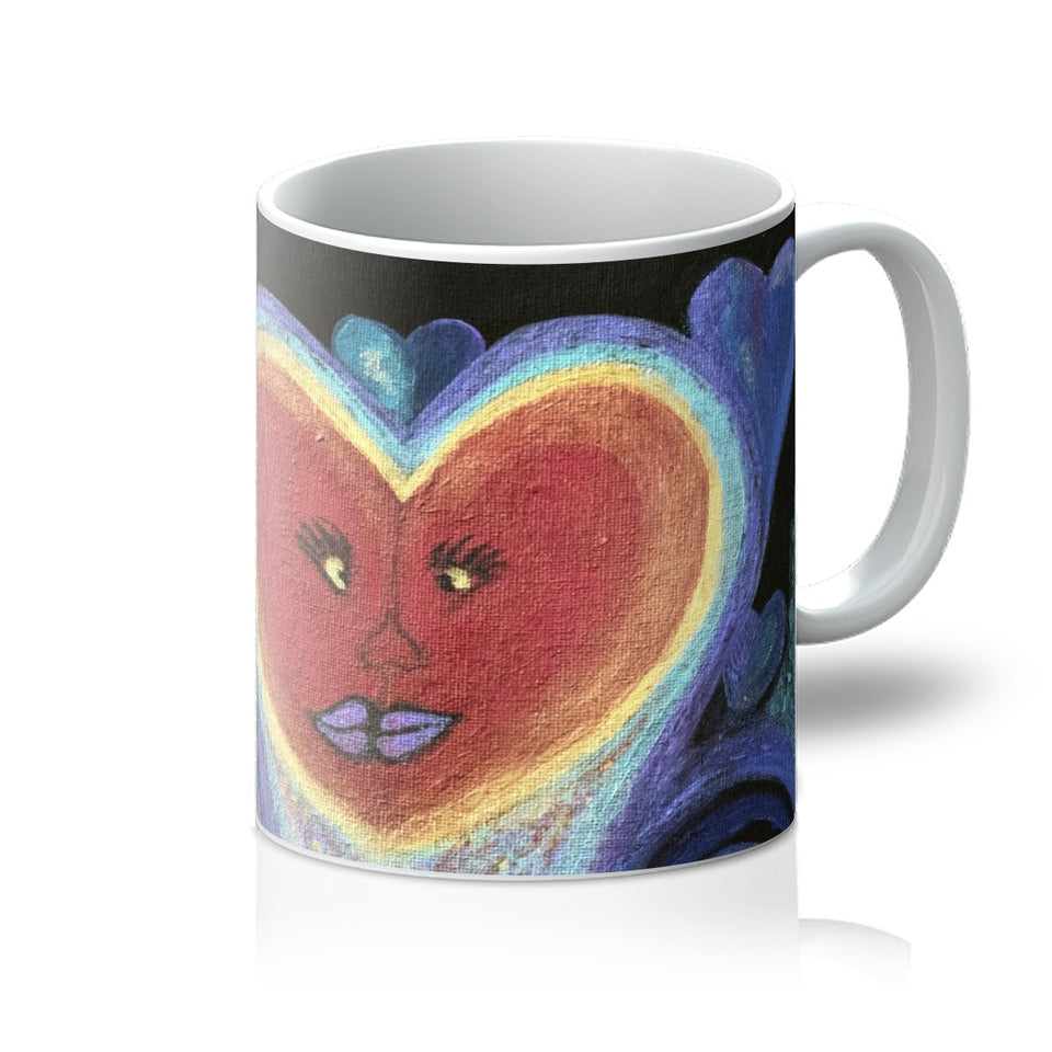 A Love Out of This World Mug - Amja Art