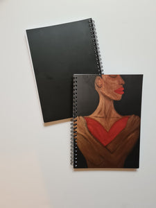 "AU  ""A Heart To Hold"" A5 Spiral Notebook"