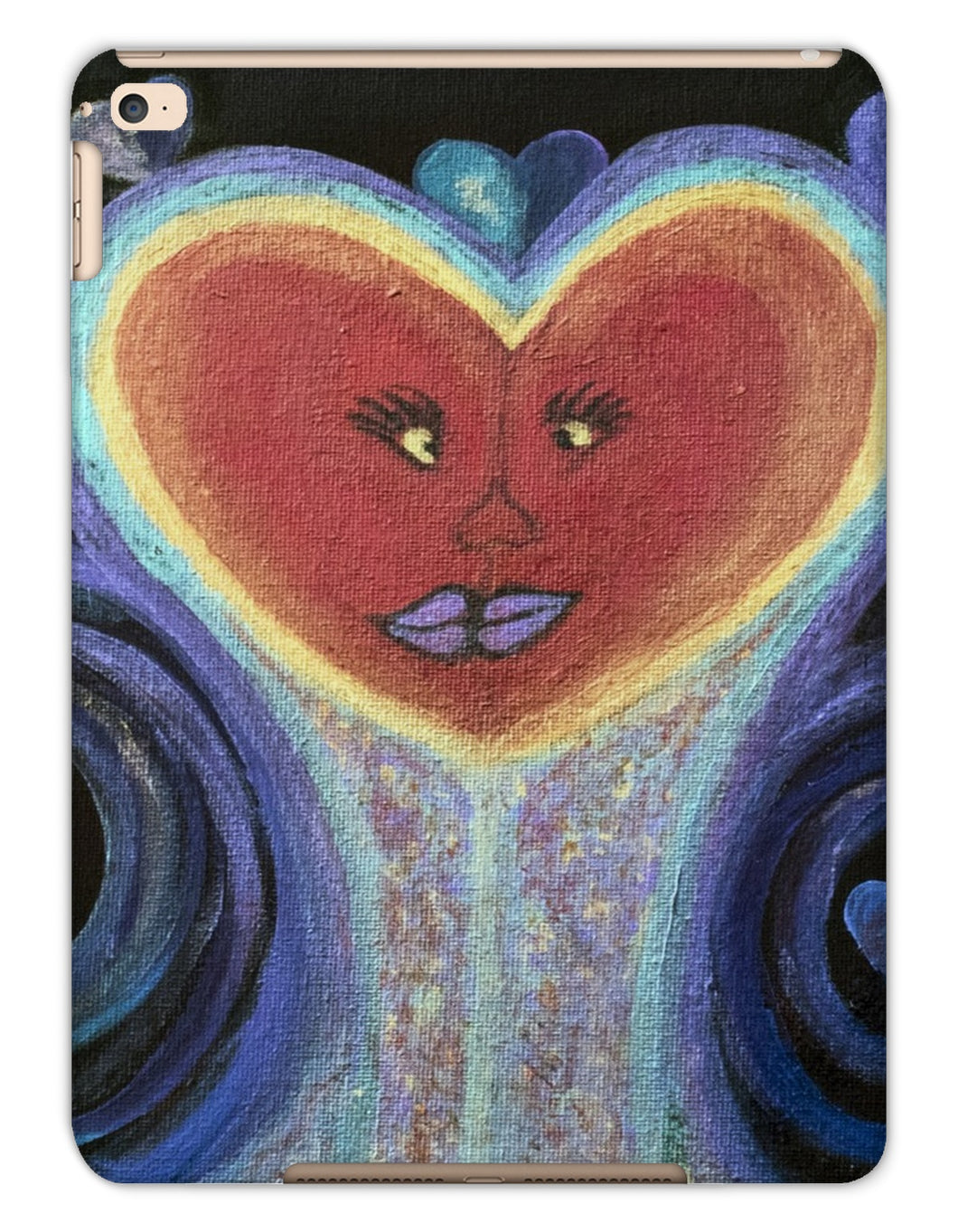A Love Out of This World Tablet Cases - Amja Art
