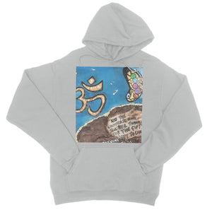 """ Kiss the Universe"" College Hoodie - Amja Art"