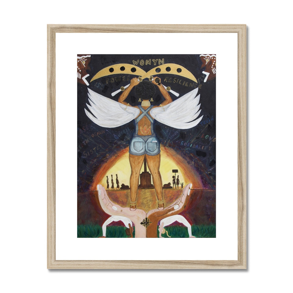"Risen Framed & Mounted Print ""Limited Edition"""