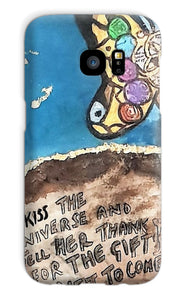 """ Kiss the Universe"" Phone Case - Amja Art"