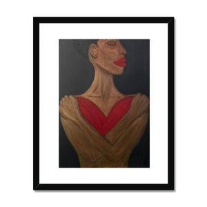 A Heart to Hold Framed & Mounted Print