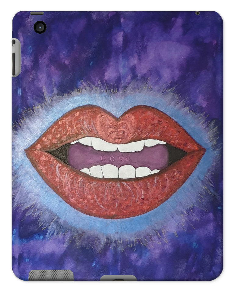 LoveLee Lips Tablet Cases - Amja Art