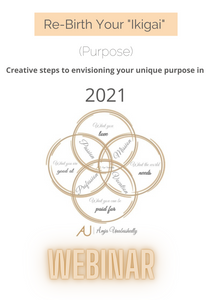 "Re-Birth Your ""Ikigai"" - Purpose 2021  Vision Board Workshop"