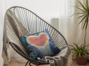 A Love Out of This World Cushion