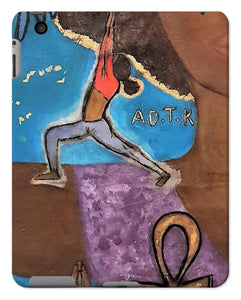 """Warrior 1"" (YOGA) Tablet Cases - Amja Art"
