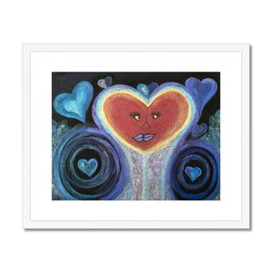 A Love Out of This World Framed & Mounted Print